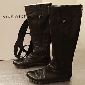 NINE WEST Watermelon Tall Flat Boot